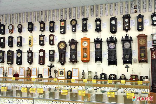 時計鐘錶歷史博物館-埔里景點-埔里博物館-鐘錶博物館
