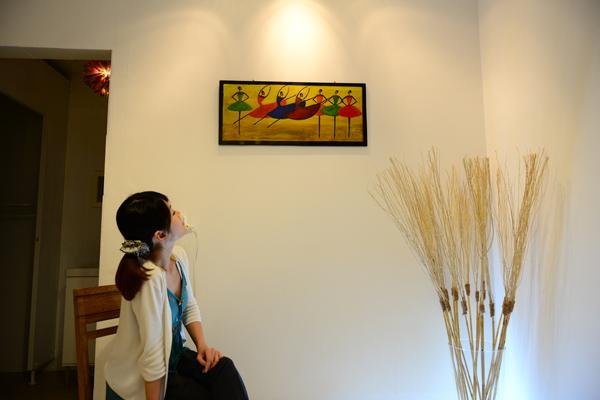 埔里運動-TUTU的設計很多出自陳時平夫婦之手。(陳時平攝)