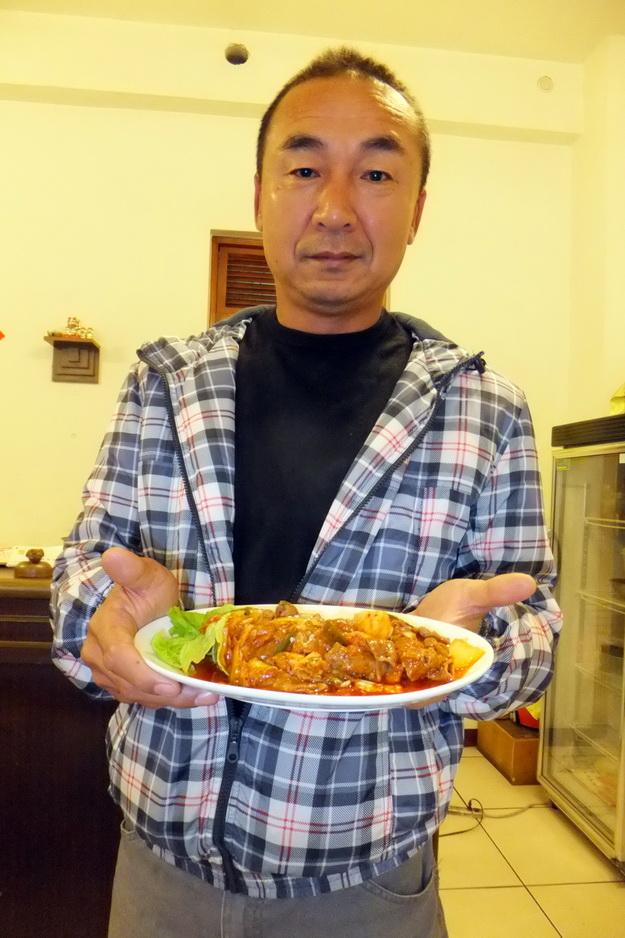 埔里韓式料理-埔里銅盤烤肉-麗苑