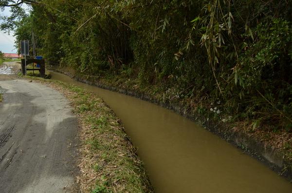 守城份圳的源頭,灌溉面積約482公頃。(柏原祥攝)