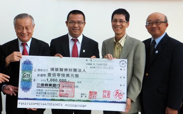 埔里醫療-埔里基督教醫院獲捐款百萬蓋長照大樓,圖二為回饋鄉里的童建智。(唐茹蘋攝)