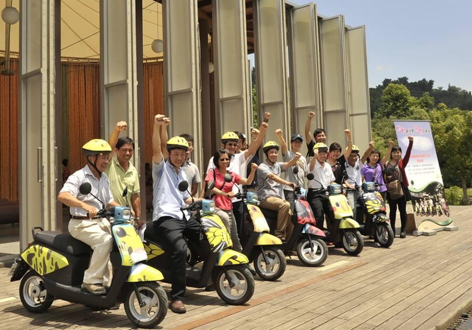 綠動奇蹟電動自行車,於埔里紙教堂成立營運中心(圖片來源:埔里紙教堂)