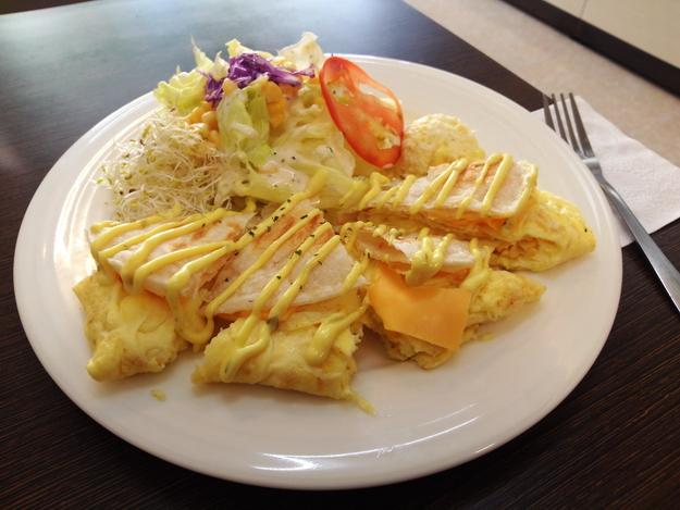 麥味登早午餐(埔里中山店)/千層蛋燒套餐